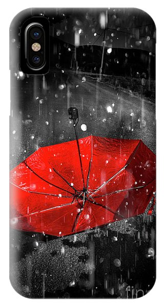 Season iPhone Case - Gone With The Rain by Jorgo Photography - Wall Art Gallery