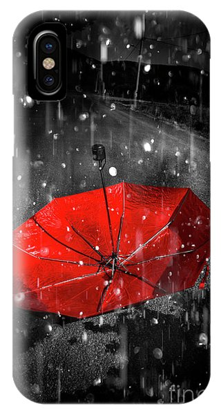 Gone With The Rain IPhone Case