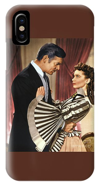 Gone With The Wind - 1939 - Completely Retouched In Color IPhone Case