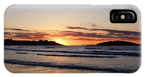 Good Harbor Beach At Sunrise Gloucester Ma IPhone Case
