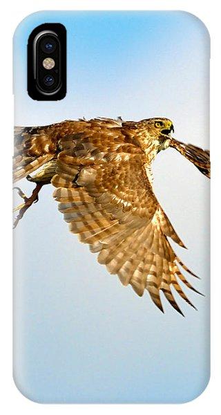 Good Hawk Hunting IPhone Case