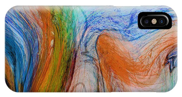 IPhone Case featuring the digital art Good Is Coming 1 by Kate Word