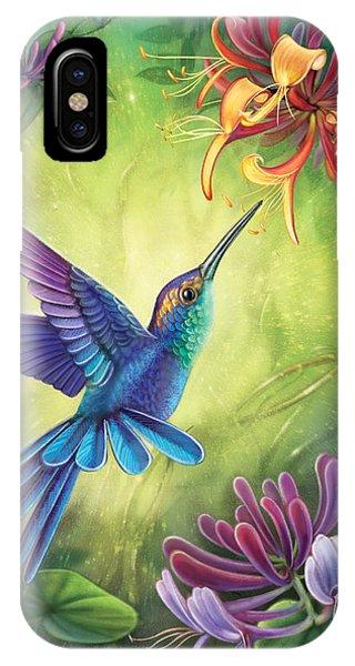 Good Luck - Honeysuckle IPhone Case