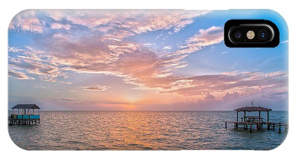 Good Morning Aransas Bay IPhone Case