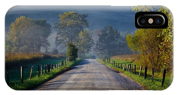 Good Morning Cades Cove 3 IPhone Case