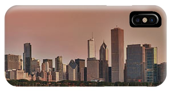 Good Morning Chicago Panorama IPhone Case