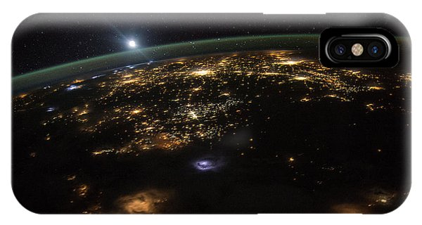 Good Morning From The International Space Station IPhone Case