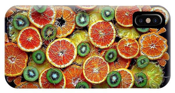 Good Morning Fruit IPhone Case