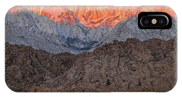 Good Morning Mount Whitney IPhone Case