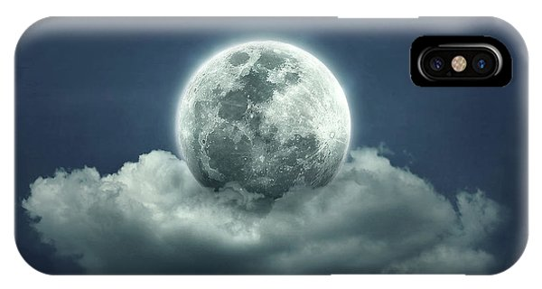 Dark Clouds iPhone Case - Good Night by Zoltan Toth