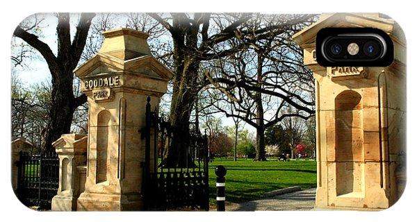 Goodale Park Gateway IPhone Case
