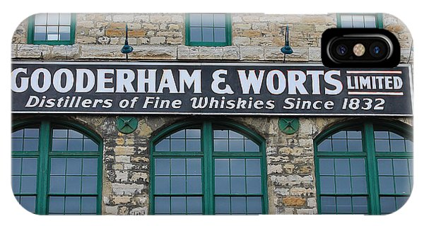 Gooderham And Worts Distillery IPhone Case