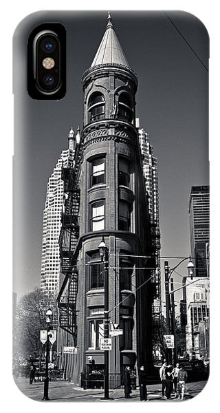 Gooderham Flatiron Building Toronto Canada IPhone Case