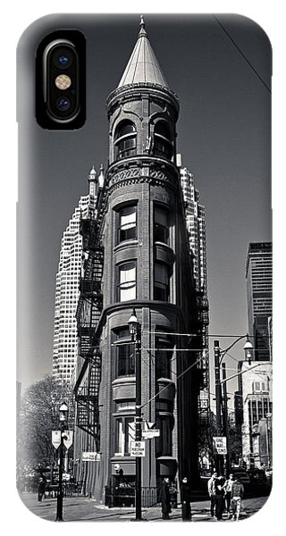 Gooderham Flatiron Building Toronto Canada IPhone Case