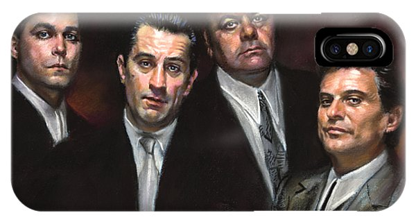 The iPhone Case - Goodfellas by Ylli Haruni