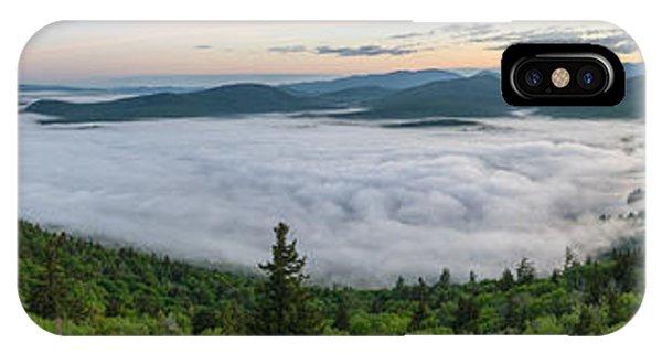 Goodnow Mountain Panorama IPhone Case