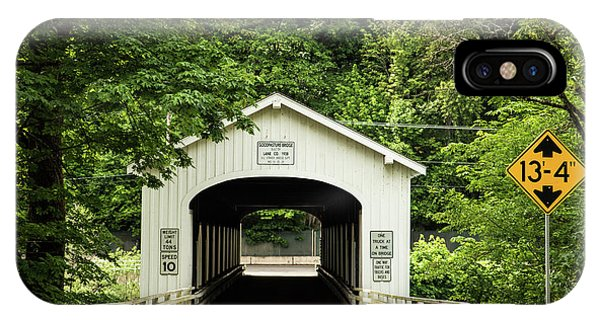 Goodpasture Covered Bridge IPhone Case