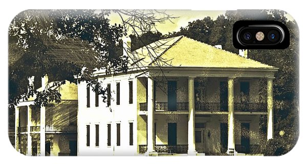 Goodwood Plantation Baton Rouge Circa 1852 IPhone Case
