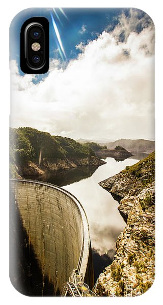 Arches National Park iPhone Case - Gordon Dam Tasmania  by Jorgo Photography - Wall Art Gallery