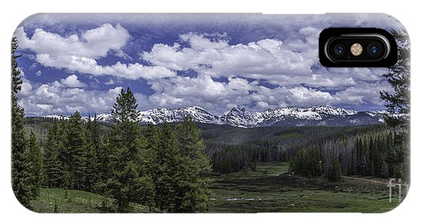 IPhone Case featuring the photograph Gore Range by Bitter Buffalo Photography