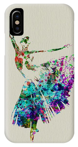 Musical iPhone Case - Gorgeous Ballerina by Naxart Studio