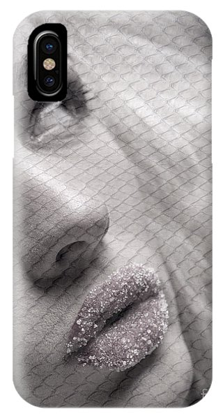 Gorgeous Girl With Sugar On Her Lips IPhone Case