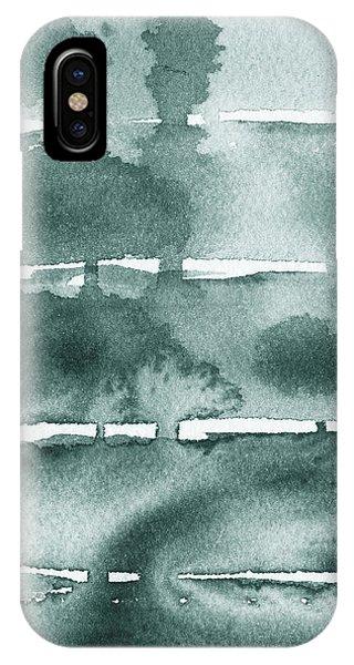 Tint iPhone Case - Gorgeous Grays Abstract Interior Decor Ix by Irina Sztukowski