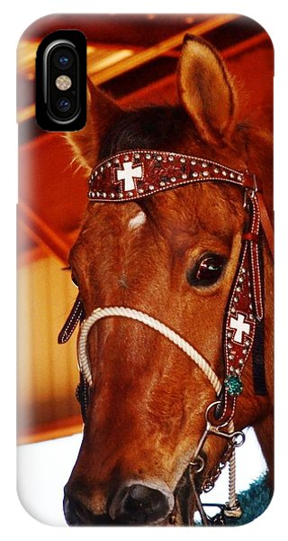 Gorgeous Horse And Bridle IPhone Case