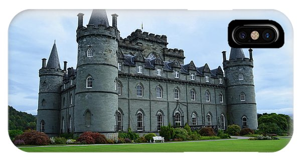 Gorgeous View Of Inveraray Castle IPhone Case