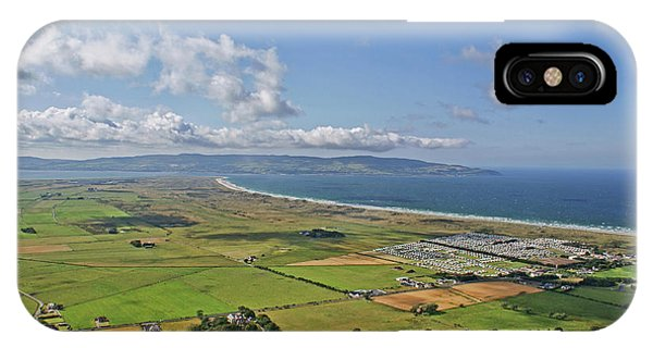 Gortmore Viewpoint, Northern Ireland. IPhone Case