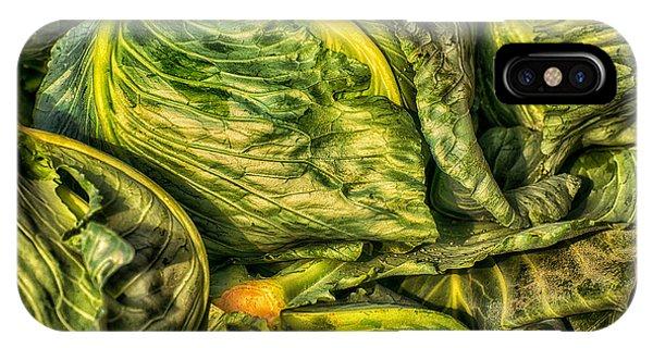 Got Cabbage? IPhone Case