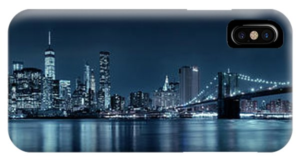 Gotham City Skyline IPhone Case