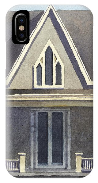 Gothic American, New Harmony, In IPhone Case