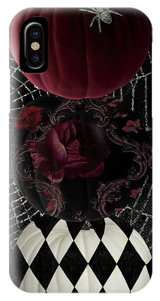 Scarlet iPhone Case - Gothic Halloween by Mindy Sommers