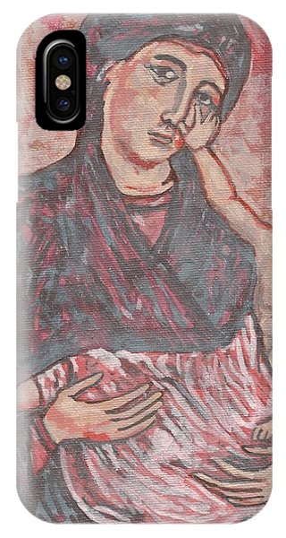 IPhone Case featuring the painting Gothic I by Janelle Dey