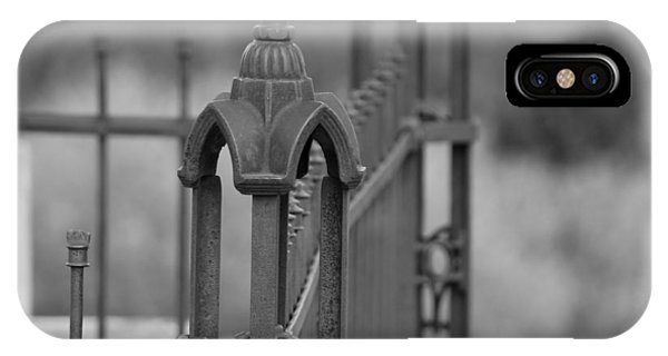 Gothic Ornamental Fence In Boothill IPhone Case