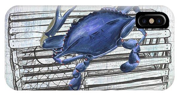 Claws iPhone Case - Gourmet Shellfish 1 by Debbie DeWitt