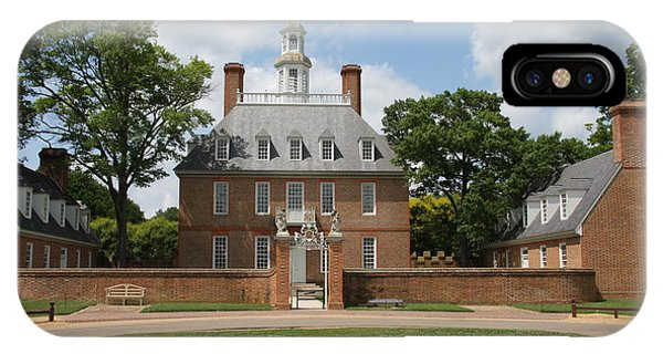 Governers Palace - Williamsburg Va IPhone Case