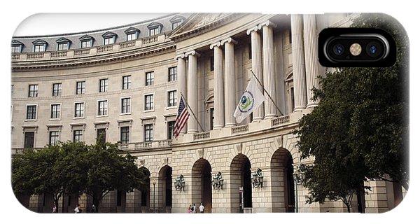Government Achitecture In Washington Dc IPhone Case
