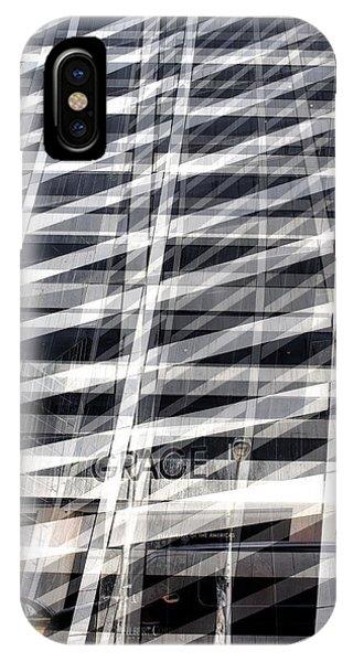 Grace Building Collage 2 IPhone Case