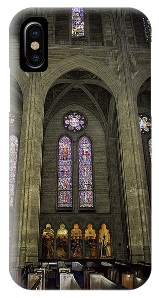 Grace Cathedral Stained Windows IPhone Case