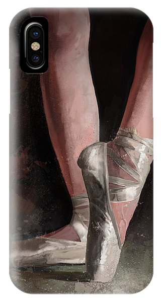 Dancing iPhone Case - Graceful Slippers by Steve Goad