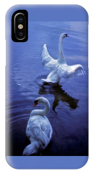 Graceful Swans IPhone Case