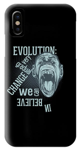 IPhone Case featuring the digital art Gradual Change  by Christopher Meade