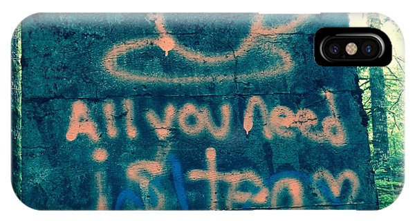 Graffitea Time IPhone Case