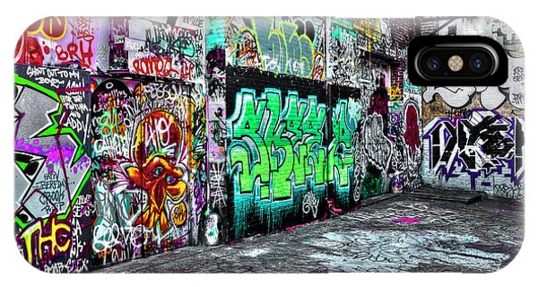 Graffiti Alley IPhone Case