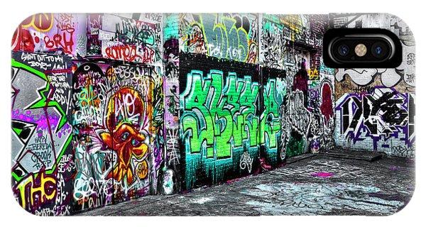 Graffiti Alley IPhone Case
