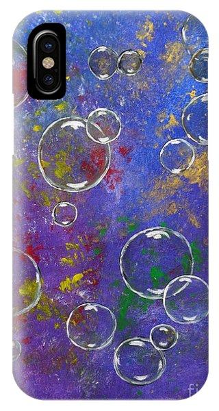 Graffiti Bubbles IPhone Case