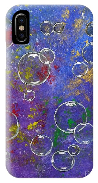 Graffiti Bubbles IPhone Case