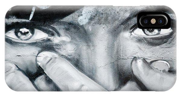Graffiti Eyes IPhone Case